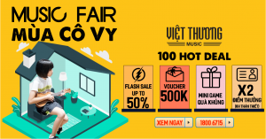 """Việt Thương Music Fair Mùa thứ 7: """" MUSIC FAIR MÙA CÔ VY"""""""